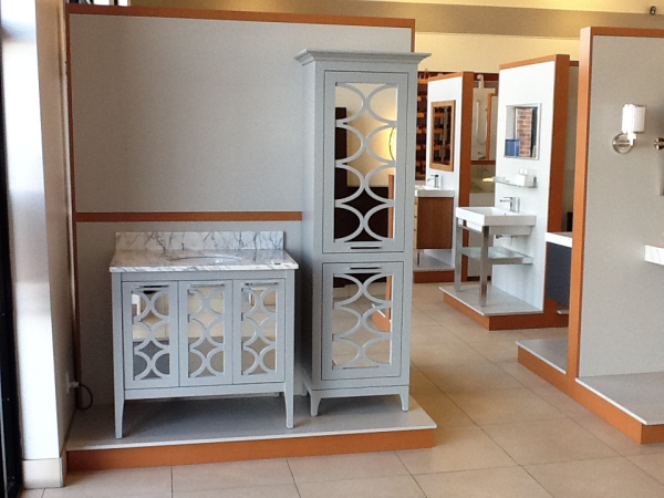 "36"" Stephen in blanc finish base price is $2195.00 with a top/sink and all the appropriate options, it is $4145.00."
